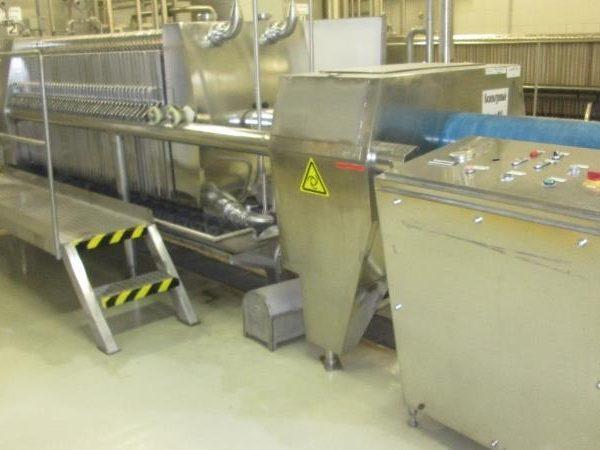Schenk Model 1000/150 Filter Press