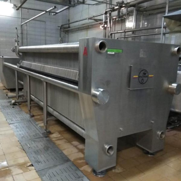 1200 x 1200 mm stainless steel plate filterpress Filtrox Novox 1200