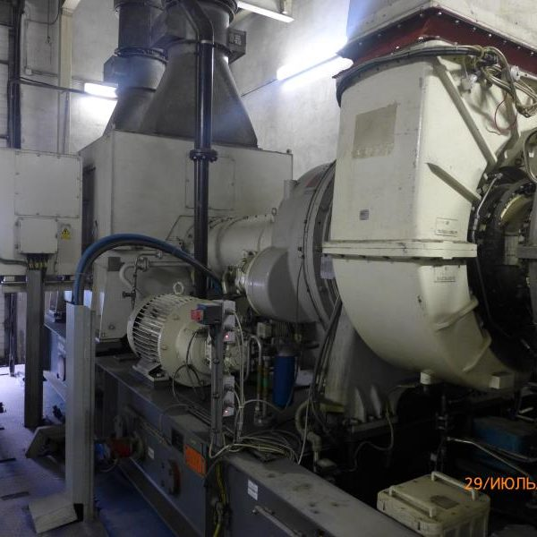Used Generator set GEC Alsthom type ST-100 Typhoon with the electrical output of 4493 KW