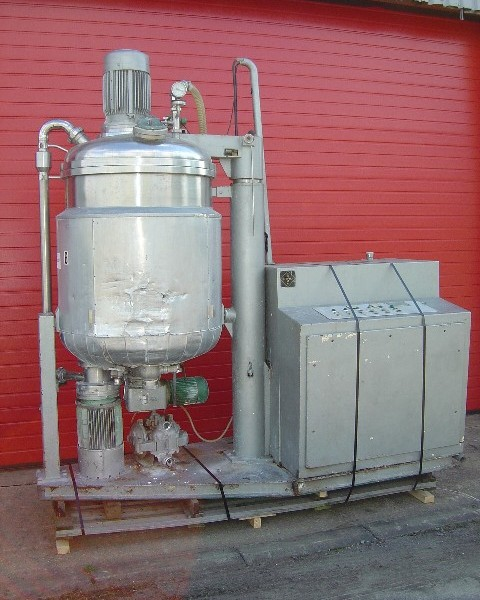 500 Litre Fryma Model VME-500 Stainless Steel Processing Unit