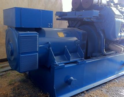 Used gas engine cogeneration plant 2000 KW
