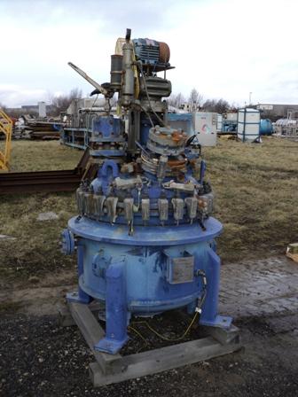 225 Litre, 3 Bar Internal, 5 Bar Jacket Cannon Glass Lined Reactor