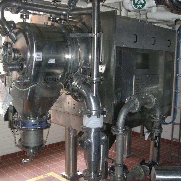 17″ Comi Condor HT450 GMP Inverting Filter Centrifuge