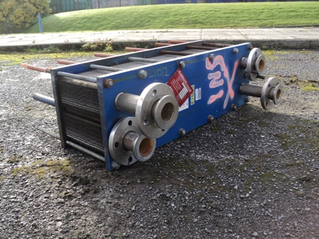 13 Sq. M. Barriquand Stainless Steel Plate Heat Exchanger