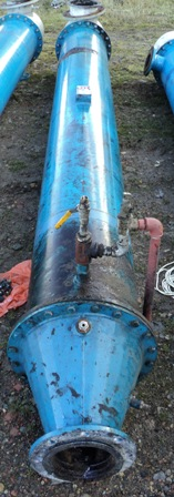 27.1 Sq. M. Enalco Horizontal Shell and Tube Heat Exchanger