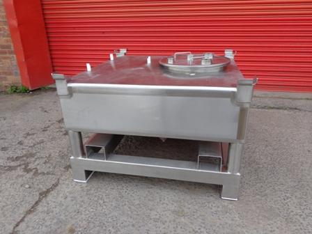 400 Litre BCD 316L Stainless Steel IBCs