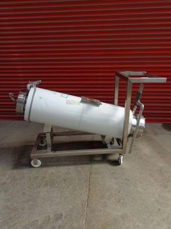 53 Sq. Ft. Chemineer Horizontal Shell and Tube Heat Exchanger