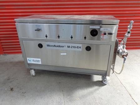 90 GPH @ 12000 PSI Microfluidics Stainless Steel Pilot Scale Microfluidizer