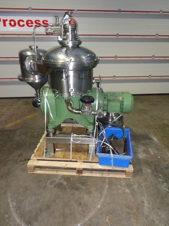 Westfalia CSA 19-47-476 Stainless Steel Clarifier Centrifuge