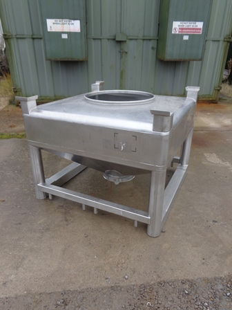 500 Litre Stainless Steel IBC