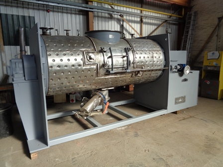 3000 Litre Morton Model FM3000 Stainless Steel Ploughshare Mixer, Used Refurbished