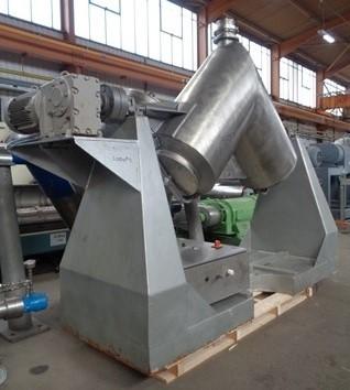 510 Litre Alfa Laval Stainless Steel V Blender