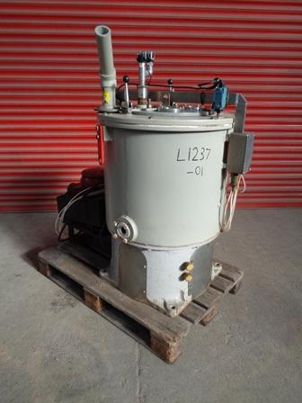 21″ X 11″ Broadbent Type 86 Halar Lined Perforated Basket Centrifuge