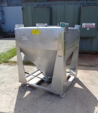 1000 Litre IBC Stainless Steel Bins