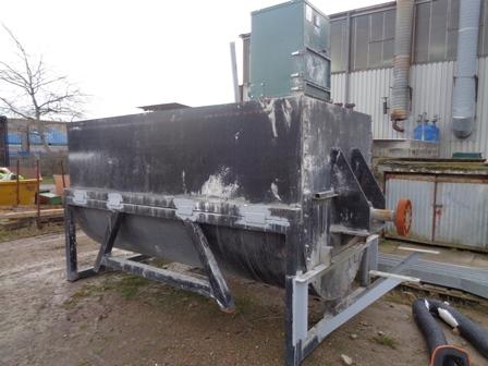 2,500 Litre Carbon Steel Ribbon Blender