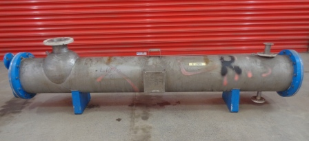 6.5 Sq. M. Horizontal Shell and Tube Heat Exchanger