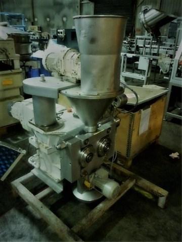 200mm Dia x 50mm Straight Side Bepex Roll Compactor