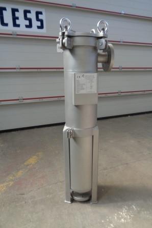 200mm X 920mm Caldereria Teruel 316 L Stainless Steel Inline Bag Filter, New