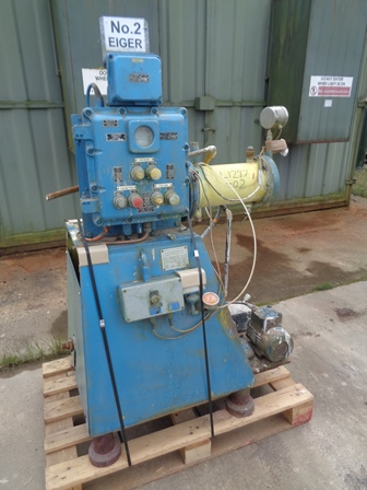 1 Gal Eiger Model 5L H SSE EXD Stainless Steel Bead Mill