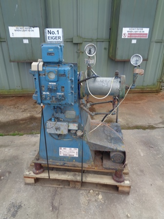 1 Gal Eiger Model Motormill ABM5 H FLP Stainless Steel Bead Mill