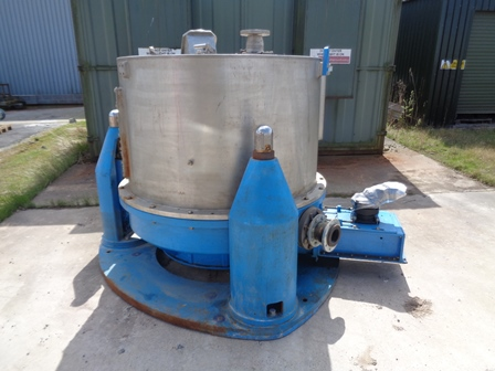 1250mm X 780mm Broadbent Type 46AM Stainless Steel Perforated Basket Centrifuge