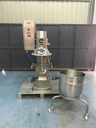 90 Litre Collette Model MP90 Stainless Steel Planetary Mixer