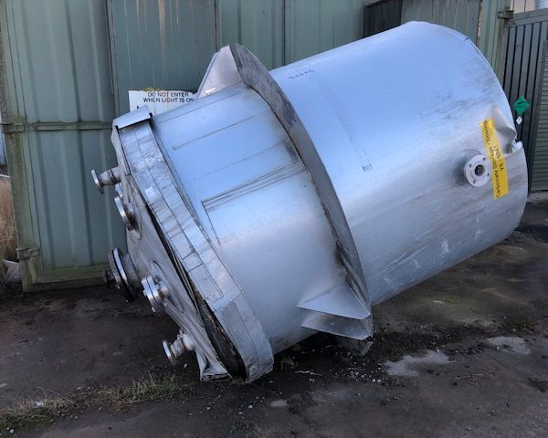 3,000 Litre Stainless Steel Mixing Vessel