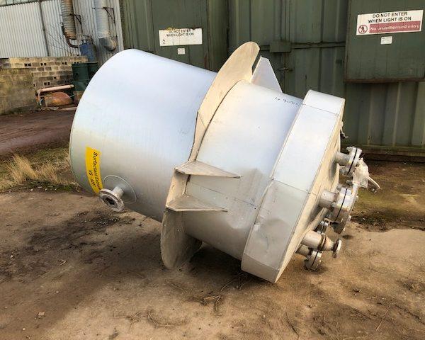 1,000 Litre Stainless Steel Storage Vessel