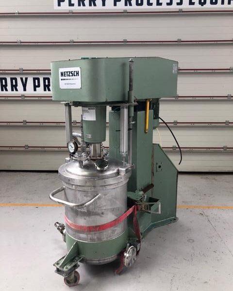 7.5 kW Netzsch Model NMD 686.072 Stainless Steel Vacuum Dissolver