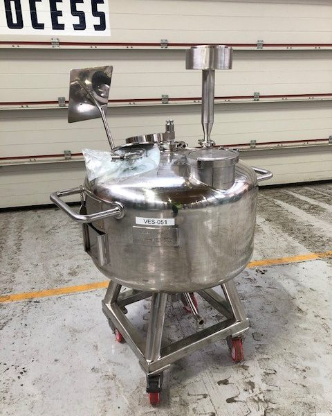 100 Litre Stainless Steel Vertical Mixing Vessel