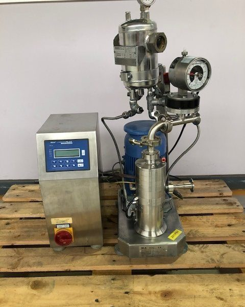 2.2 kW IKA Process Pilot DR 2000/4 ATEX Stainless Steel Inline Disperser