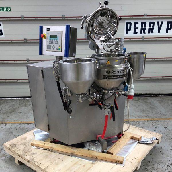 18 Litre Fryma MaxxD Lab Stainless Steel Homogenizing Mixer
