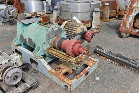 Krauss Maffei KVZ33 Horizontal Solid Bowl Decanter Centrifuge