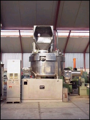 5000 Litre Thyssen Henschel Model HU/G 5000 Stainless Steel Universal Mixer Granulator