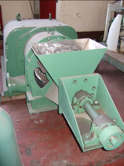 16″ (406mm) Escher Wyss P-3 2-Stage Pusher Centrifuge