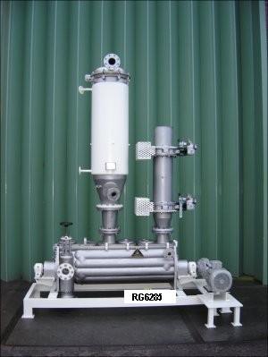 Stord Bartz Model TST-0.3V 316TI Stainless Steel Rotadisc Dryer