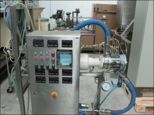 7 HP Fryma MZ-100 Stainless Steel Colloid Mill