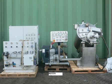 300 Litre Collette TOPO-300 Mixer Granulator Dryer