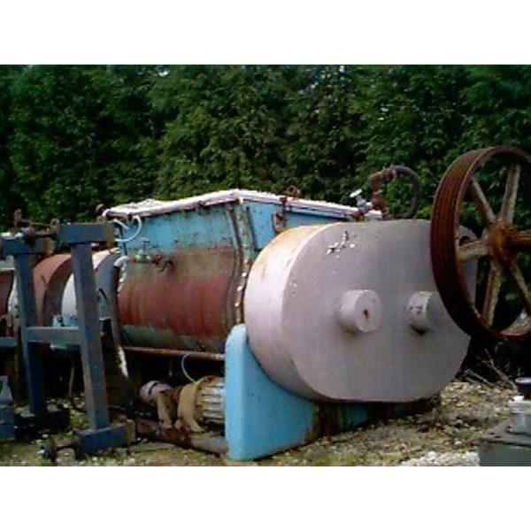 450 Litre Winkworth Model 43Z SS DD Stainless Steel Z-Blade Mixer, Refurbished
