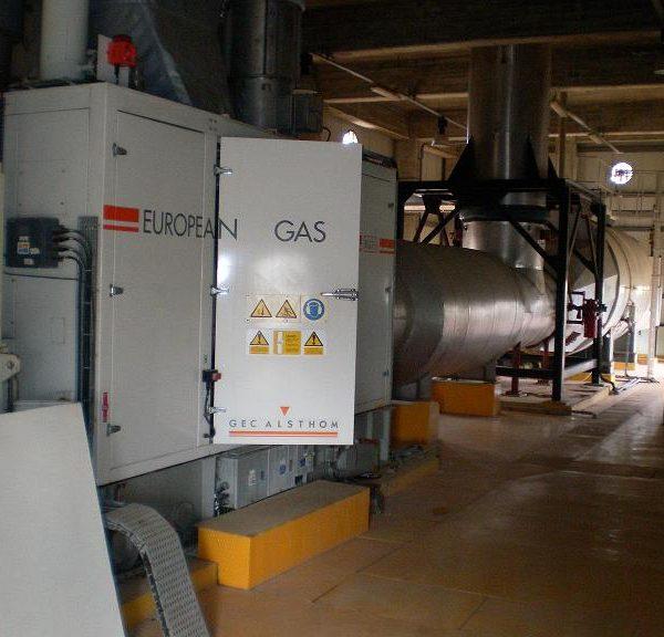 4200 kW 11000 Volts 50 Hz Siemens Power Plant