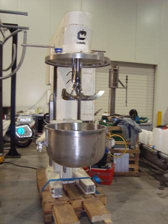 150 Litre Collette Gral-150 Stainless Steel Mixer Granulator