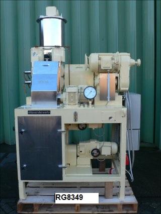 4″ X 6″ Alexanderwerk Model WP150X120V Stainless Steel Roll Compactor