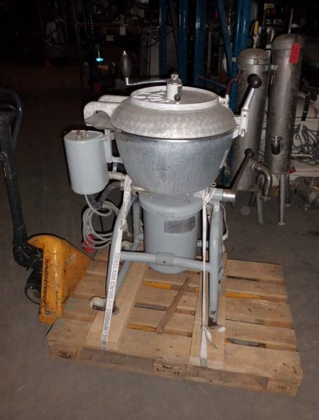 40 Litre Stephan Model UM40 Stainless Steel Vacuum Mixer and Disperser