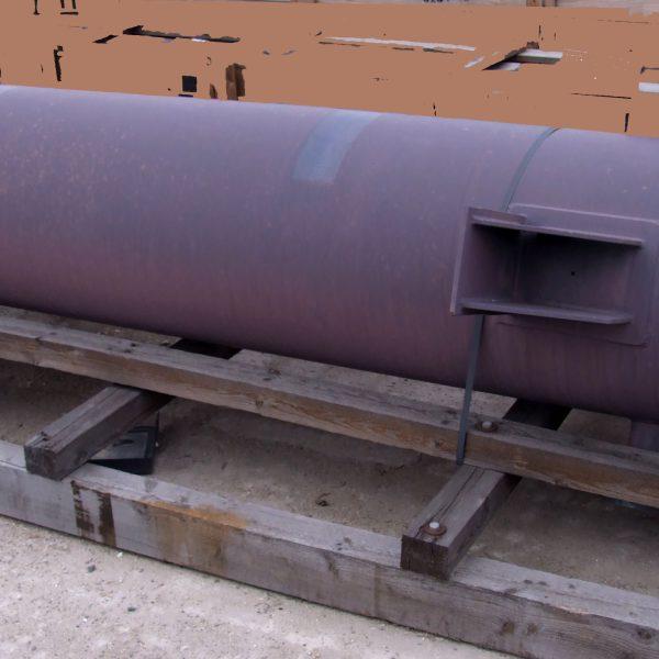 54 Sq. M. GAB Neumann Gmbh Horizontal Shell and Tube Heat Exchanger