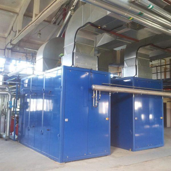 (2) 400 kW 380 Volts 50 Hz Biogas Power Plant
