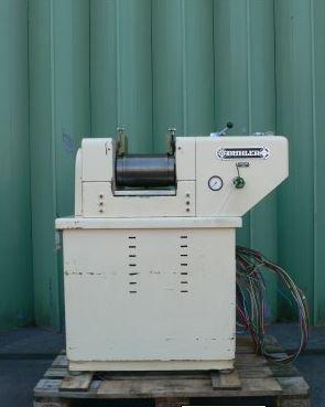 8″ Long x 6″ Diameter, Buhler 3-Roll Mill