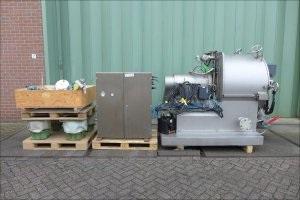 39″ GFT Trenntechnik H-10 Horizontal Peeler Centrifuge