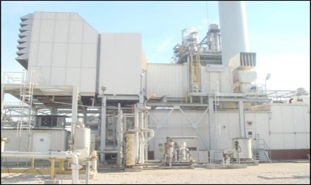 130000 kW 50 Hz GE Power Plant