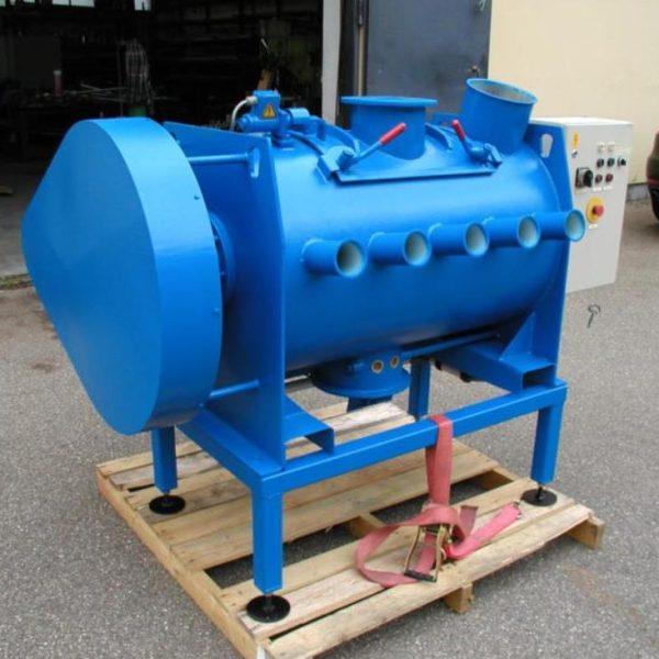 300 Litre Lödige Model FM-300D Mild Steel Ploughshare Mixer