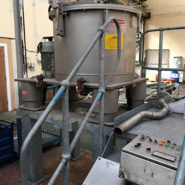 33″ X 18″ Broadbent Stainless Steel Basket Centrifuge